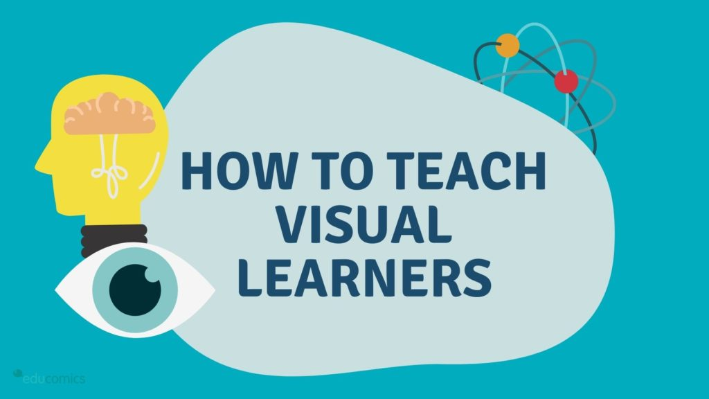 how to teach visual learners title cover